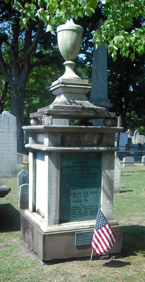 Mary Wooster grave